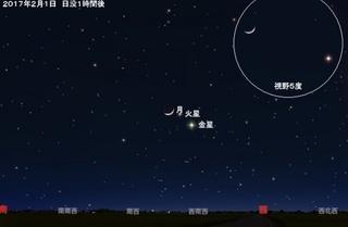 月と火星と金星の共演.jpg